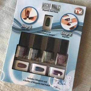 Magna Nails Magnetic Nail Polish *NIB*